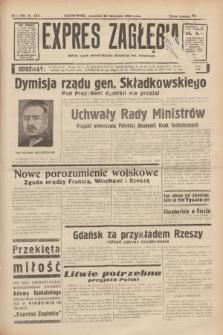 Expres Zagłębia : jedyny organ demokratyczny niezależny woj. kieleckiego. R.13, nr 323 (24 listopada 1938)