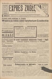 Expres Zagłębia : jedyny organ demokratyczny niezależny woj. kieleckiego. R.13, nr 325 (26 listopada 1938)
