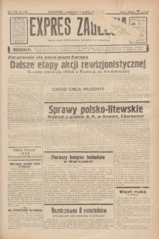 Expres Zagłębia : jedyny organ demokratyczny niezależny woj. kieleckiego. R.13, nr 334 (5 grudnia 1938)