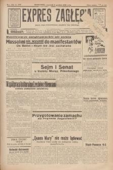 Expres Zagłębia : jedyny organ demokratyczny niezależny woj. kieleckiego. R.13, nr 337 (8 grudnia 1938)