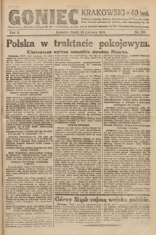 Goniec Krakowski. 1919, nr163