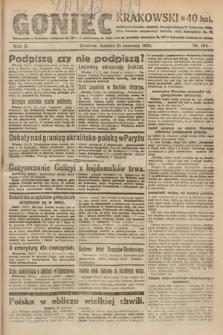 Goniec Krakowski. 1919, nr164