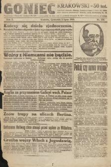 Goniec Krakowski. 1919, nr176
