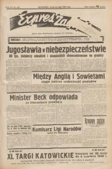 Expres Zagłębia : jedyny organ demokratyczny niezależny woj. kieleckiego. R.14, nr 142 (24 maja 1939)