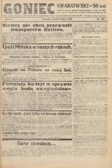Goniec Krakowski. 1919, nr182