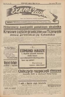 Expres Zagłębia : jedyny organ demokratyczny niezależny woj. kieleckiego. R.14, nr 199 (21 lipca 1939)