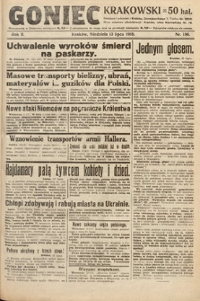 Goniec Krakowski. 1919, nr186