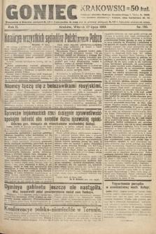 Goniec Krakowski. 1919, nr195