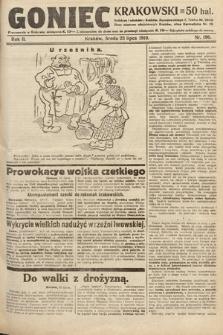 Goniec Krakowski. 1919, nr196
