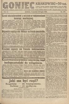Goniec Krakowski. 1919, nr197