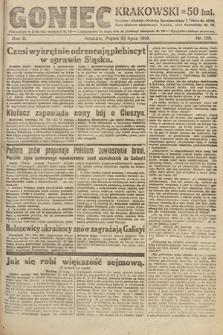 Goniec Krakowski. 1919, nr198