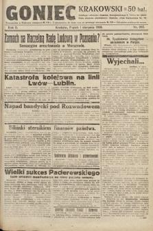 Goniec Krakowski. 1919, nr205