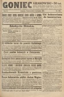 Goniec Krakowski. 1919, nr208