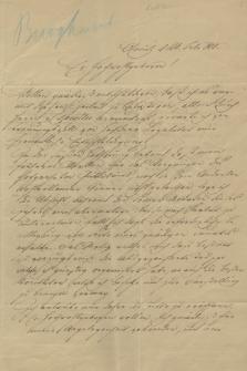 Korespondencja Wiktora Kopffa senatora Rzeczypospolitej Krakowskiej w sprawach teatralnych z lat 1842-1844