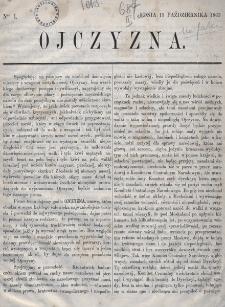 Ojczyzna. 1863, nr 1
