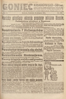 Goniec Krakowski. 1919, nr228