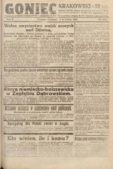Goniec Krakowski. 1919, nr252