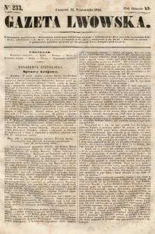 Gazeta Lwowska. 1853, nr233