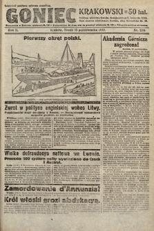 Goniec Krakowski. 1919, nr279