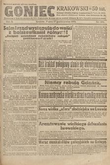 Goniec Krakowski. 1919, nr281