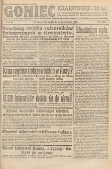 Goniec Krakowski. 1919, nr283