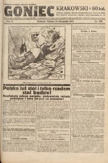 Goniec Krakowski. 1919, nr309
