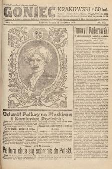 Goniec Krakowski. 1919, nr313