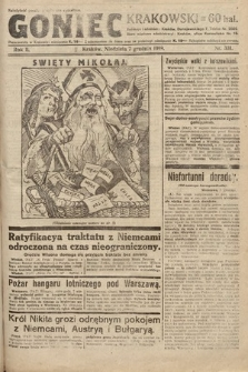 Goniec Krakowski. 1919, nr331