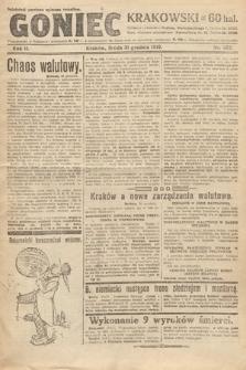 Goniec Krakowski. 1919, nr352