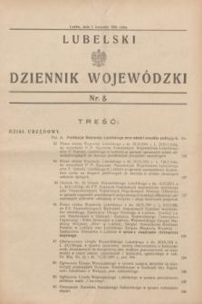 Lubelski Dziennik Wojewódzki. [R.12], nr 8 (1 kwietnia 1931)
