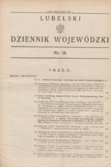 Lubelski Dziennik Wojewódzki. [R.12], nr 18 (15 lipca 1931)
