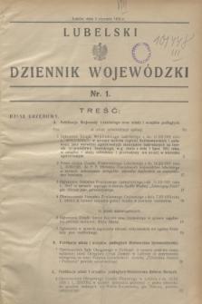 Lubelski Dziennik Wojewódzki. [R.13], nr 1 (2 stycznia 1932) + dod.