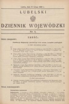 Lubelski Dziennik Wojewódzki. [R.17], nr 3 (15 lutego 1936)