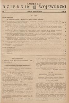 Lubelski Dziennik Wojewódzki. 1949, nr 15 (30 maja)