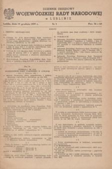 Dziennik Urzędowy Wojewódzkiej Rady Narodowej w Lublinie. 1959, nr 8 (10 grudnia)