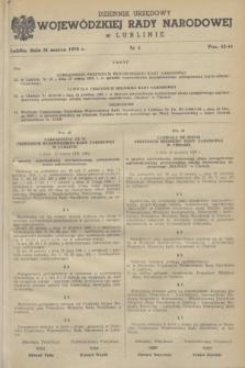 Dziennik Urzędowy Wojewódzkiej Rady Narodowej w Lublinie. 1970, nr 5 (31 marca)