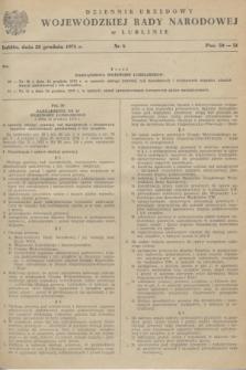 Dziennik Urzędowy Wojewódzkiej Rady Narodowej w Lublinie. 1978, nr 8 (22 grudnia)