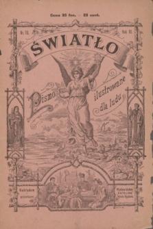Światło : pismo ilustrowane dla ludu. R.3, nr 10 (1 października 1889)