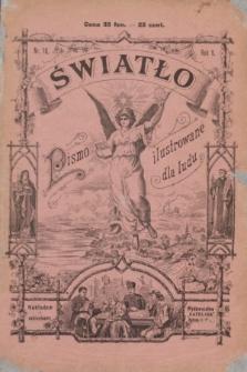 Światło : pismo ilustrowane dla ludu. R.5, nr 10 (1 października 1891)