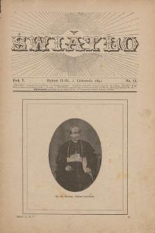Światło. R.5, nr 11 (1 listopada 1891)