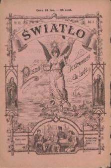 Światło : pismo ilustrowane dla ludu. R.5, nr 12 (1 grudnia 1891)