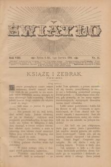 Światło. R.8, nr 11 (1 czerwca 1894) + dod.