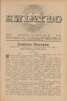 Światło. R.9, nr 20 (15 października 1895) + dod.