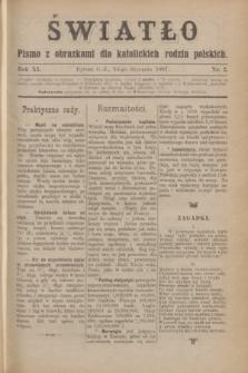 Światło : pismo z obrazkami dla katolickich rodzin polskich. R.11, nr 2 (14 stycznia 1897)