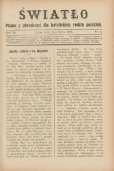 Światło : pismo z obrazkami dla katolickich rodzin polskich. R.11, nr 9 (4 marca 1897)