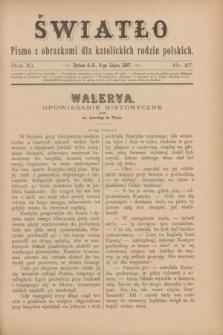 Światło : pismo z obrazkami dla katolickich rodzin polskich. R.11, nr 27 (8 lipca 1897)