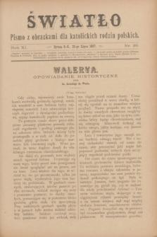 Światło : pismo z obrazkami dla katolickich rodzin polskich. R.11, nr 29 (22 lipca 1897)