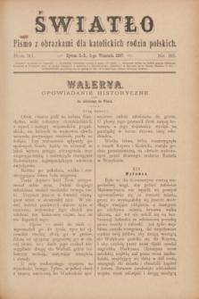 Światło : pismo z obrazkami dla katolickich rodzin polskich. R.11, nr 35 (2 września 1897)