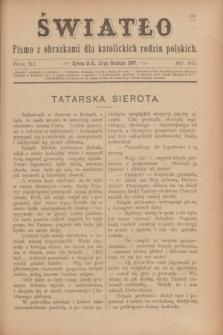 Światło : pismo z obrazkami dla katolickich rodzin polskich. R.11, nr 50 (16 grudnia 1897)
