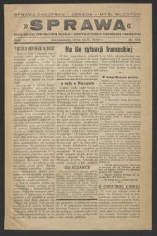 Sprawa : organ Związku Syndykalistów Polskich i Syndykalistycznego Porozumienia Powstańczego. R.5, nr 106 (12 września 1944)
